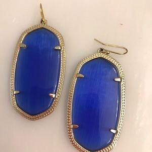 Kendra Scott, Blue Larger Danielle earrings.